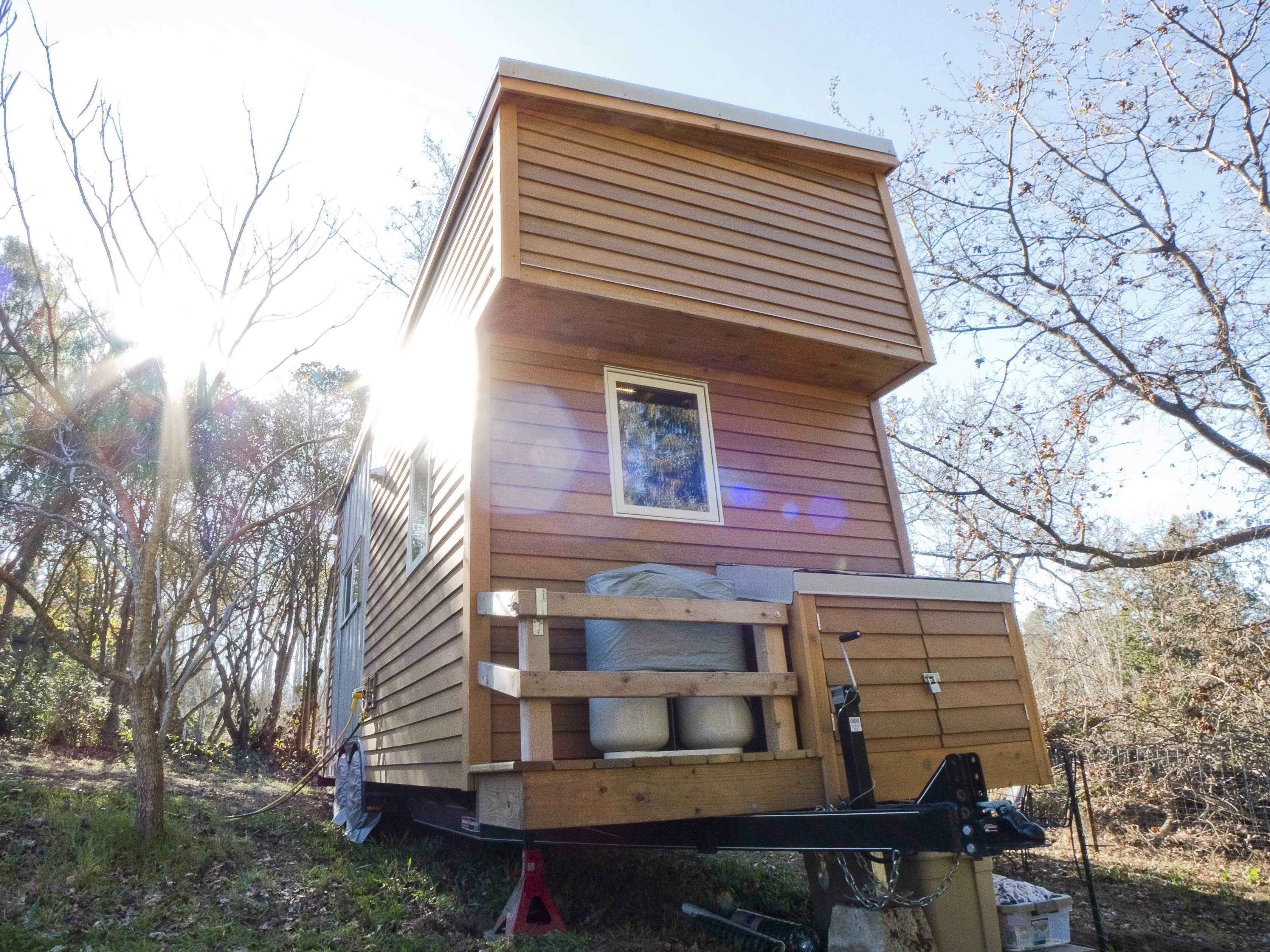 Alek Lisefski Tiny House a california couple built this portable 'tiny house' for
