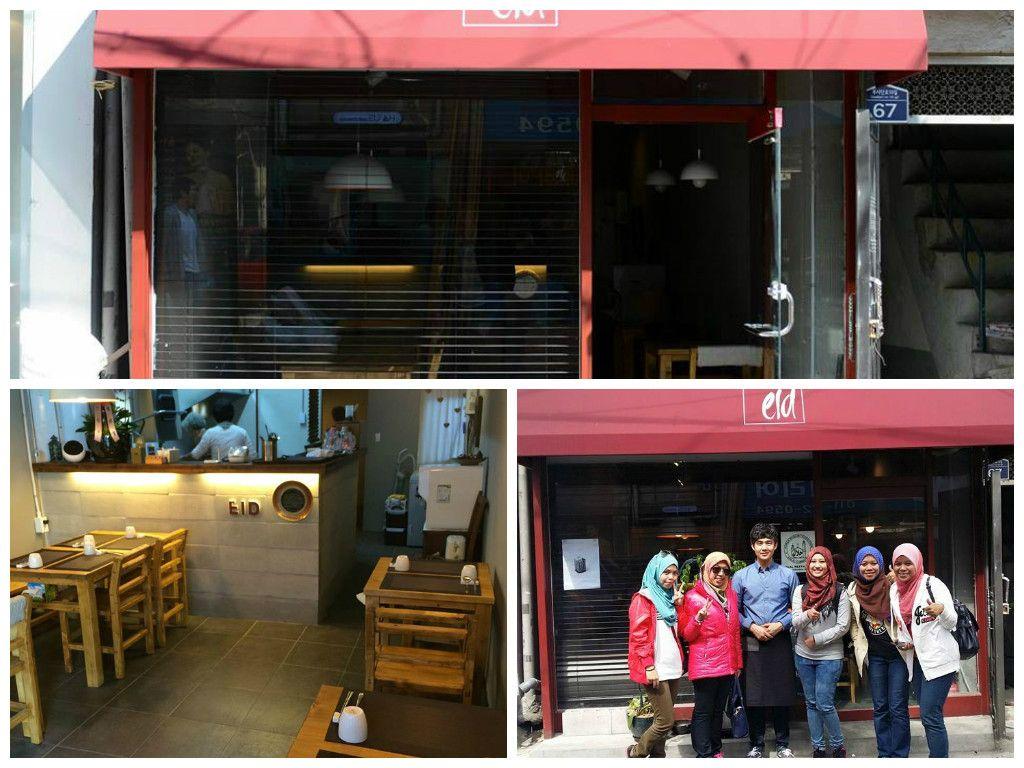 Eid Satu Satunya Restoran Halal Di Itaewon Restoran Makanan Muslim