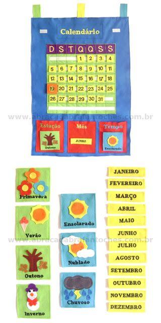 Decoracoes Com Imagens Calendarios Infantis