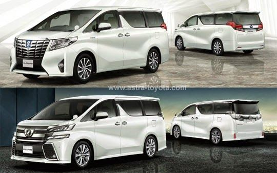 All New Alphard Launching Toyota Grand Avanza Brosur Dan Vellfire 2016 Astra