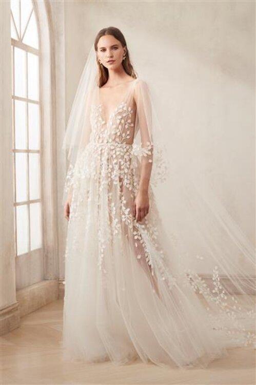 Oscar De La Renta Brautkleider Fur 2020 Weiblichkeit Eleganz Und Avantgarde In 2020 Brautmode Kleid Hochzeit Hochzeitskleid Trend