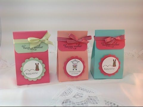 Quick Easy Easter Treat Bag Visit Stampingwithamore For More Stampin Up
