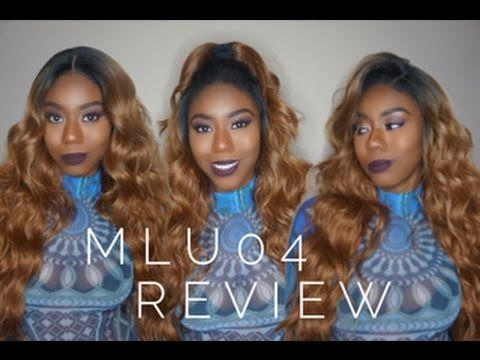 New Born Free Synthetic Lace Wig Magic Lace U Shape Lace Wig Mlu04 Review Youtube Synthetic Lace Wigs Lace Wigs Wigs