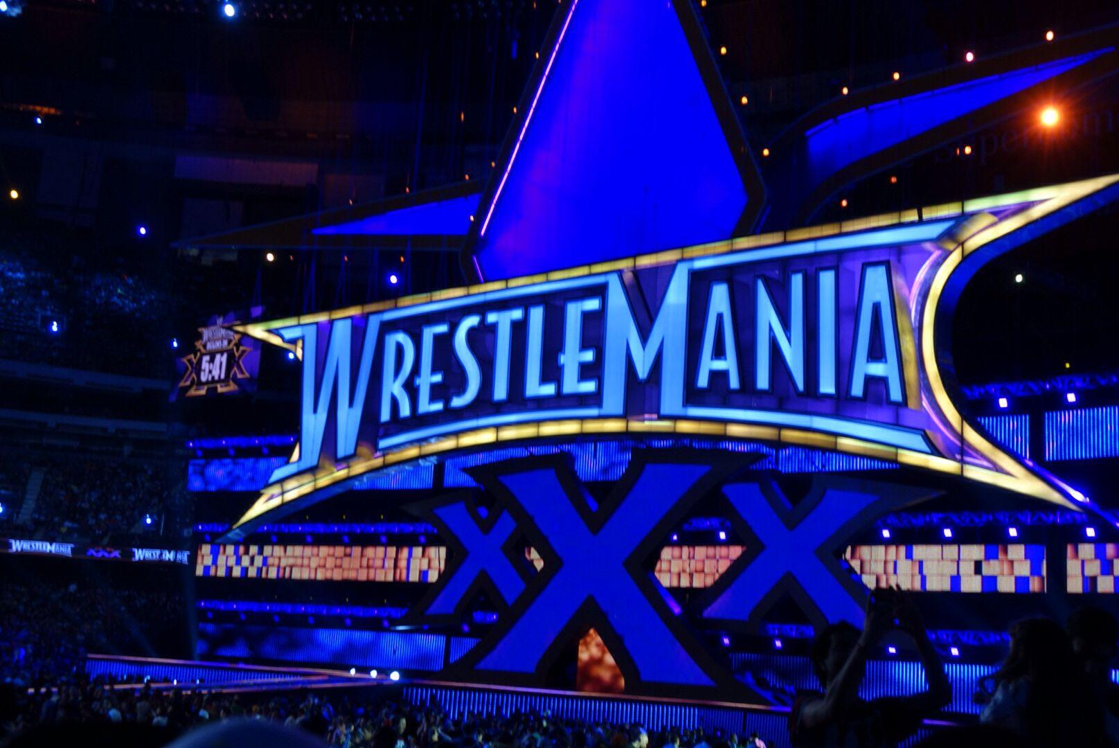I was there. Wrestlemania, Wwf, Wwe