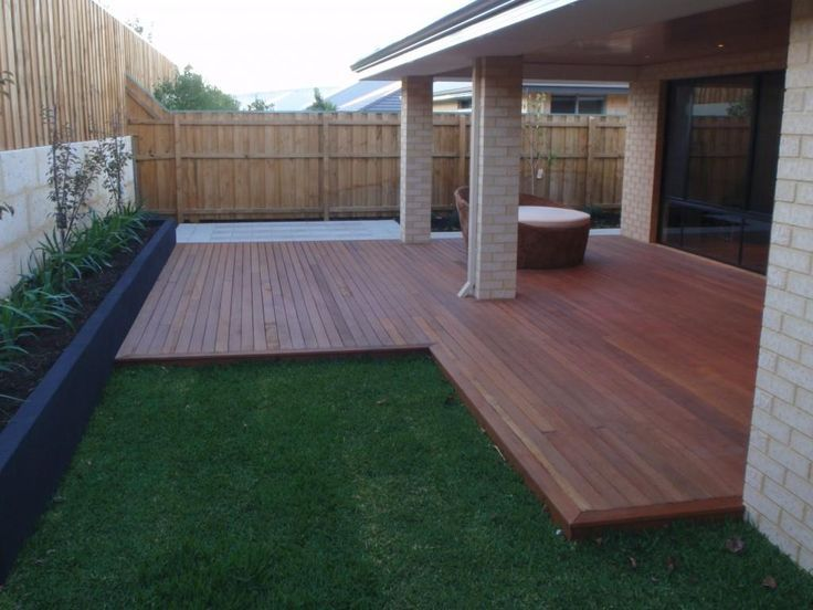 backyard decking designs. image result for bifold doors onto decking and step up grass garden. ideasoutdoor backyard designs o