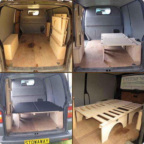 StowAway Folding Bed - Vehicle Furniture | Karavanlar