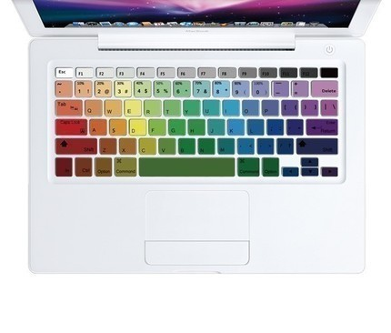 Rainbow Keyboard Skin Decal Sticker for Macbook Keyboard