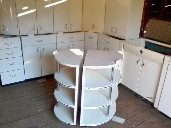 Metal Kitchen Cabinets Vintage by sablemable hey, all you metal kitchen cabinet lovers! i found