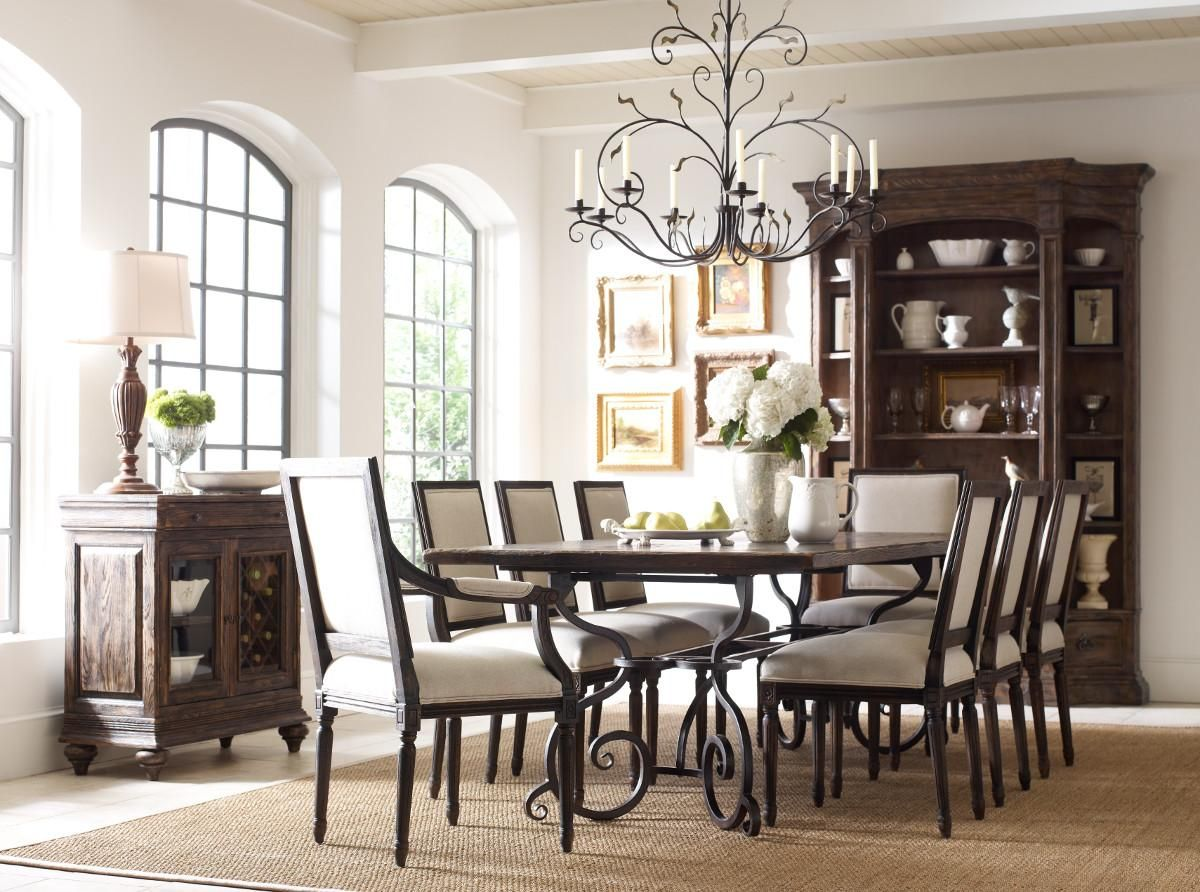 Kincaid Furniture Artisanu0027s Shoppe Dining Traditional Rectangular Solid  Wood Dining Table At Olindeu0027s Furniture Kincaid Furniture Manufacturer Page  Part Of ...