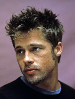 Brad Pitt Beard Styles #hairandbeardstyles