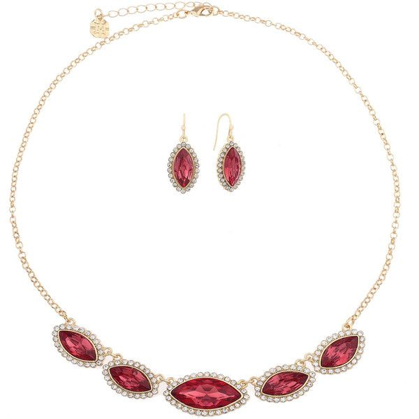 Monet Jewelry Monet Jewelry Womens 2-pc. Pink Jewelry Set FEERN