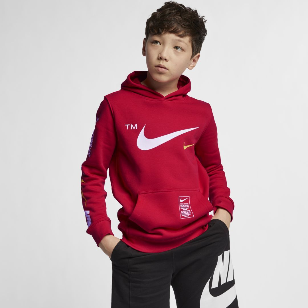 Nike Sportswear Club Fleece Big Kids' (Boys') Pullover