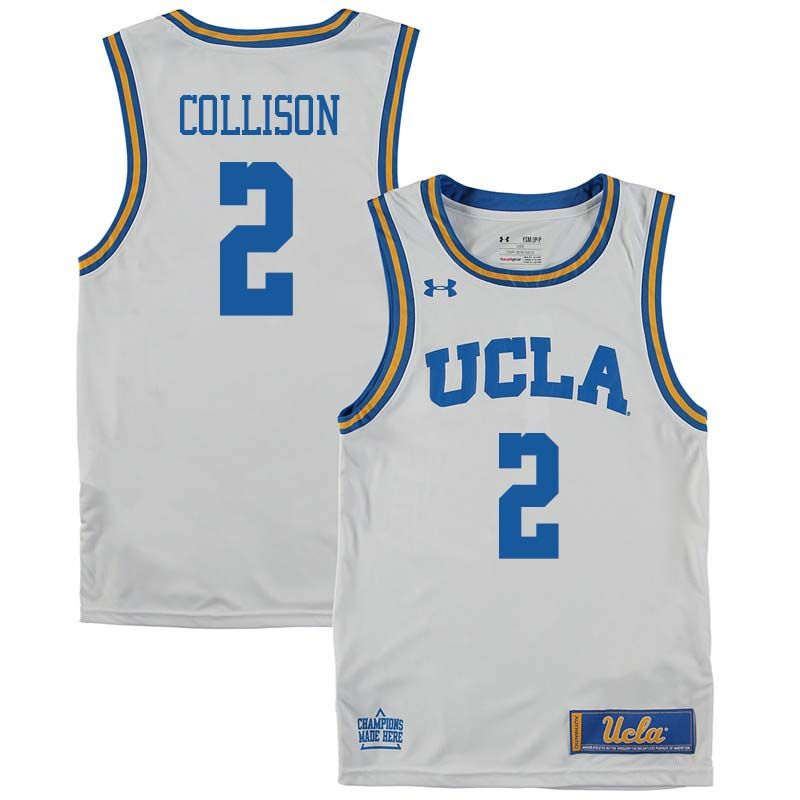148271aac241 ... discount code for men 2 darren collison ucla bruins college basketball  jerseys sale white 3b389 8435b