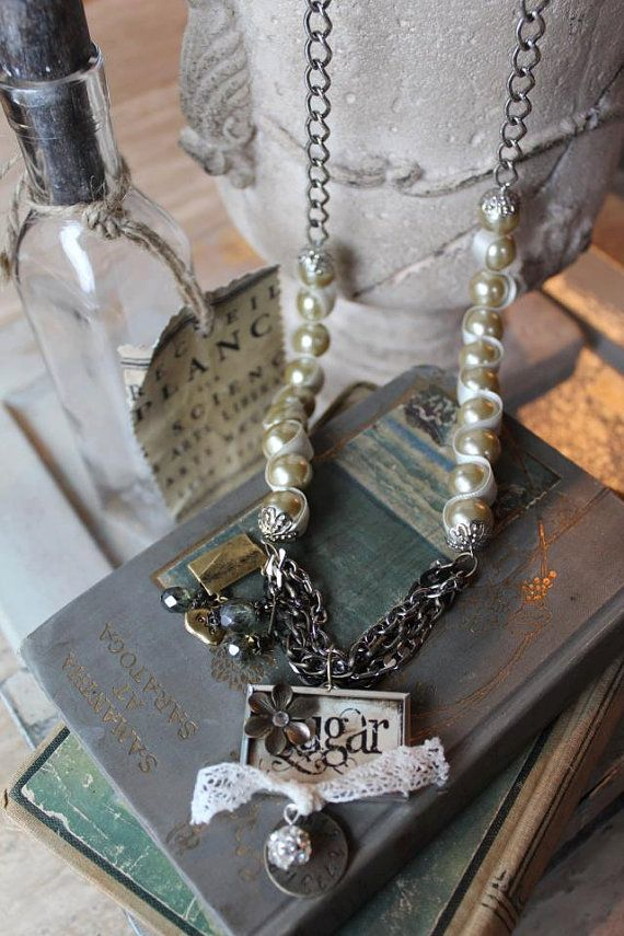 Sugar & Spice necklace by HaveFaithDesigns on Etsy