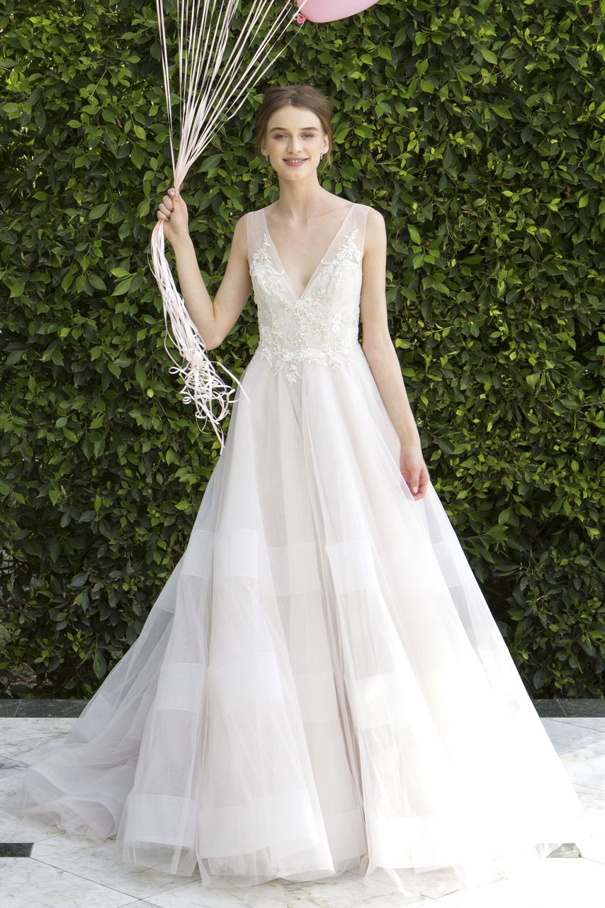 Bliss by monique lhuiiler style bridals by lori ethereal