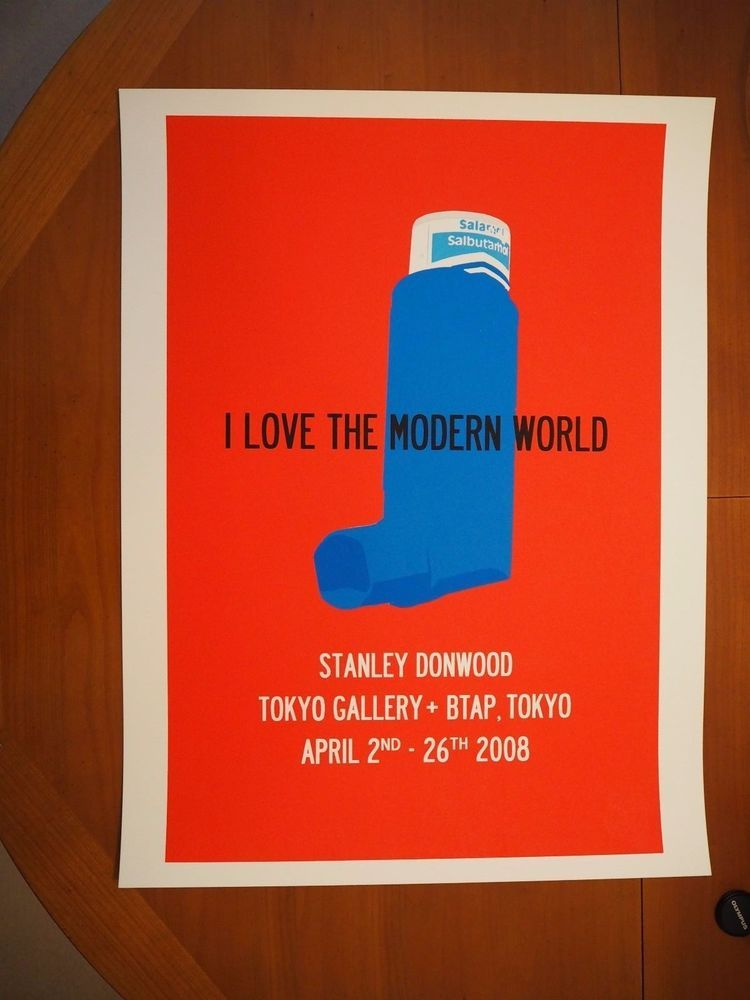 Stanley Donwood 5 colour Screenprint - Tokyo Show Poster - Limited to 100 only