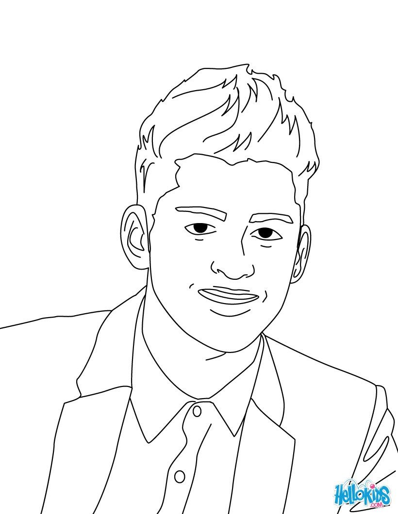 Zayn Malik coloring page from One Direction Boys band. More One ...