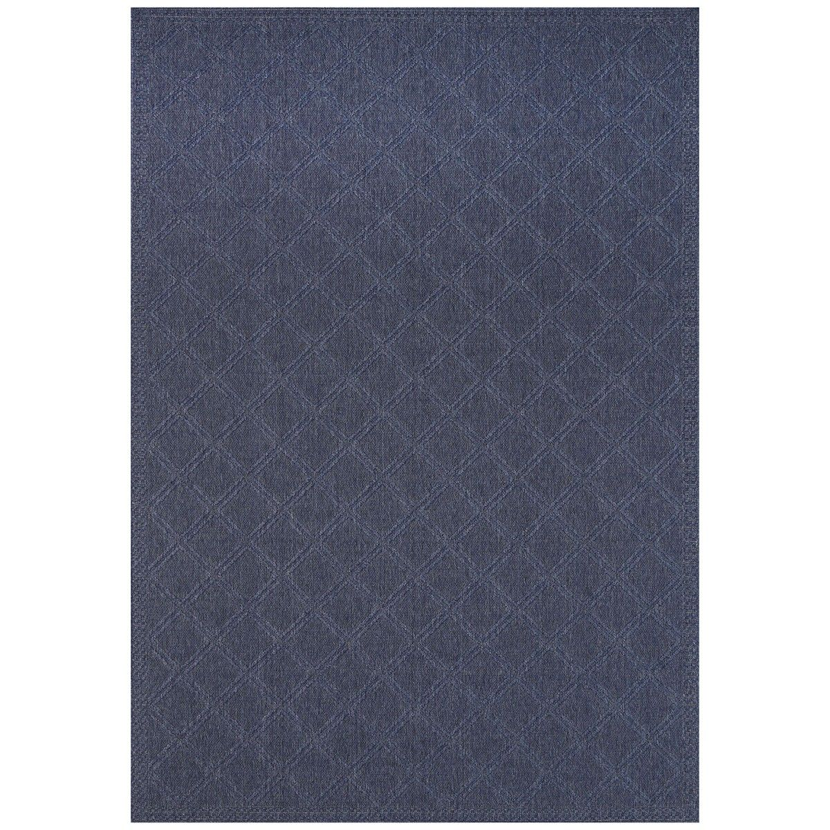 Indoor Outdoor Rug 160x230cm Blue