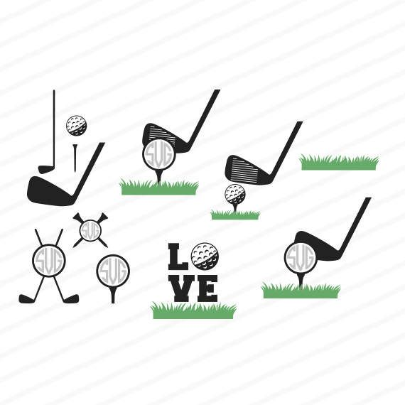 Download Download Free Golf Svg PNG Free SVG files | Silhouette and ...