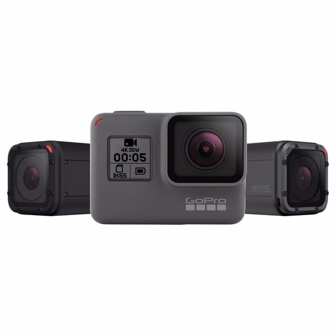 Hero5 Black And Hero5 Session Join Gopro S Rough N Ready Lineup With Images Gopro Accessories Gopro Gopro Camera