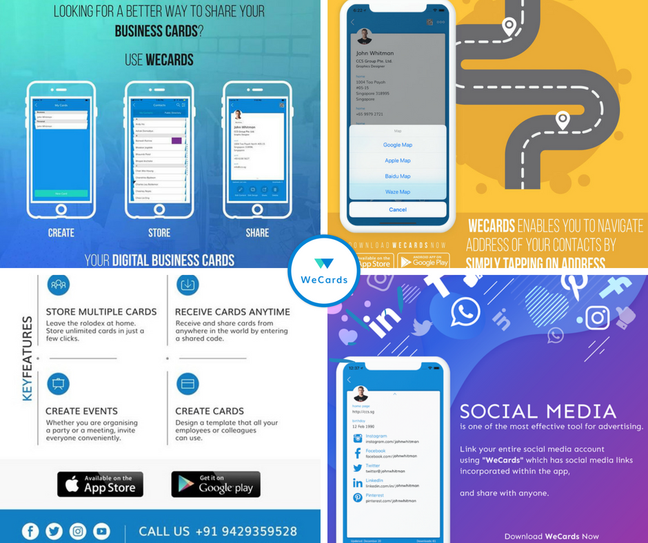 Digital Business Cards Are The Way To Go Let The Digital Card Define Your Business Download The App Digital Business Card Business Card App Digital Business
