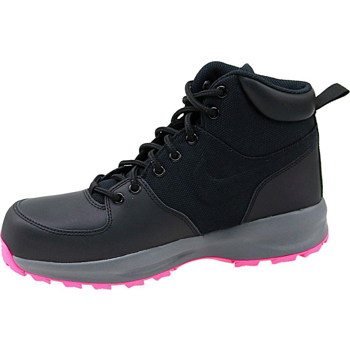 Buty Nike Manoa Lth Gs W 859412 006 Czarne Black Shoes Nike Shoes Women Nike