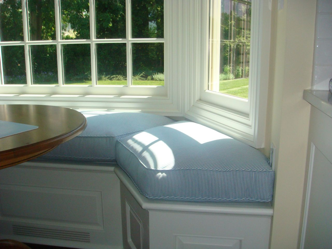 Bay Window Seat Cushion For Kitchen Window Seat Cushions