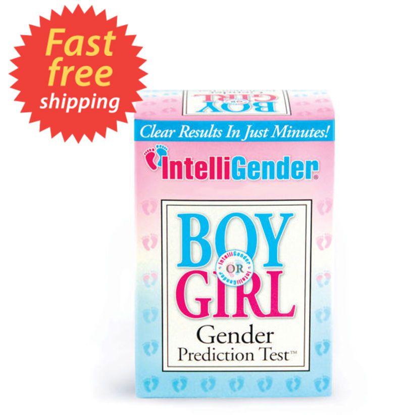 intelligender boy or girl gender test