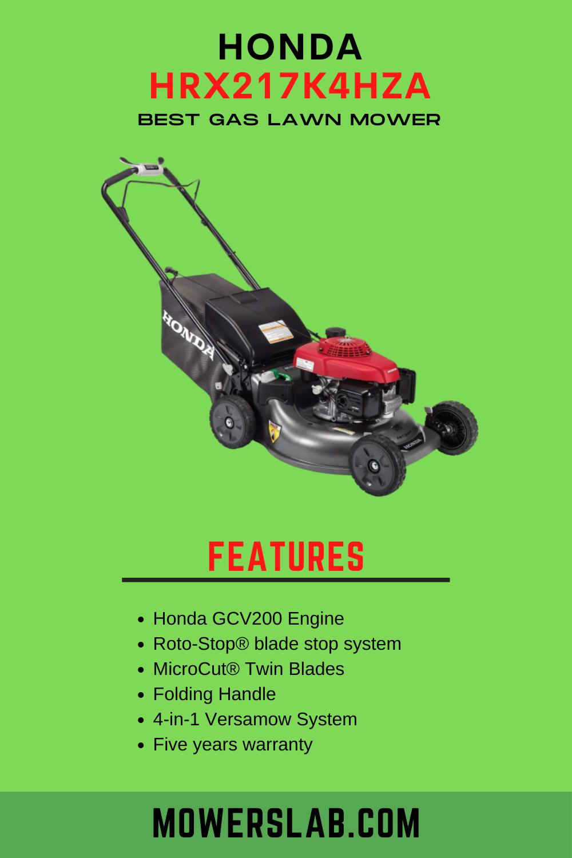 Honda Hrx217k4hza Hrx Series Lawn Mowers Lawn Mower Best Lawn Mower Gas Lawn Mower
