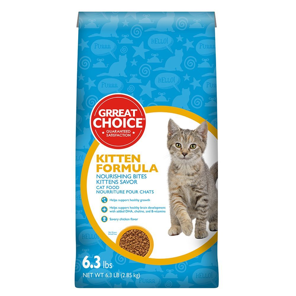 Great Choice Kitten Food Kitten Food Kitten Formula Happy Kitten