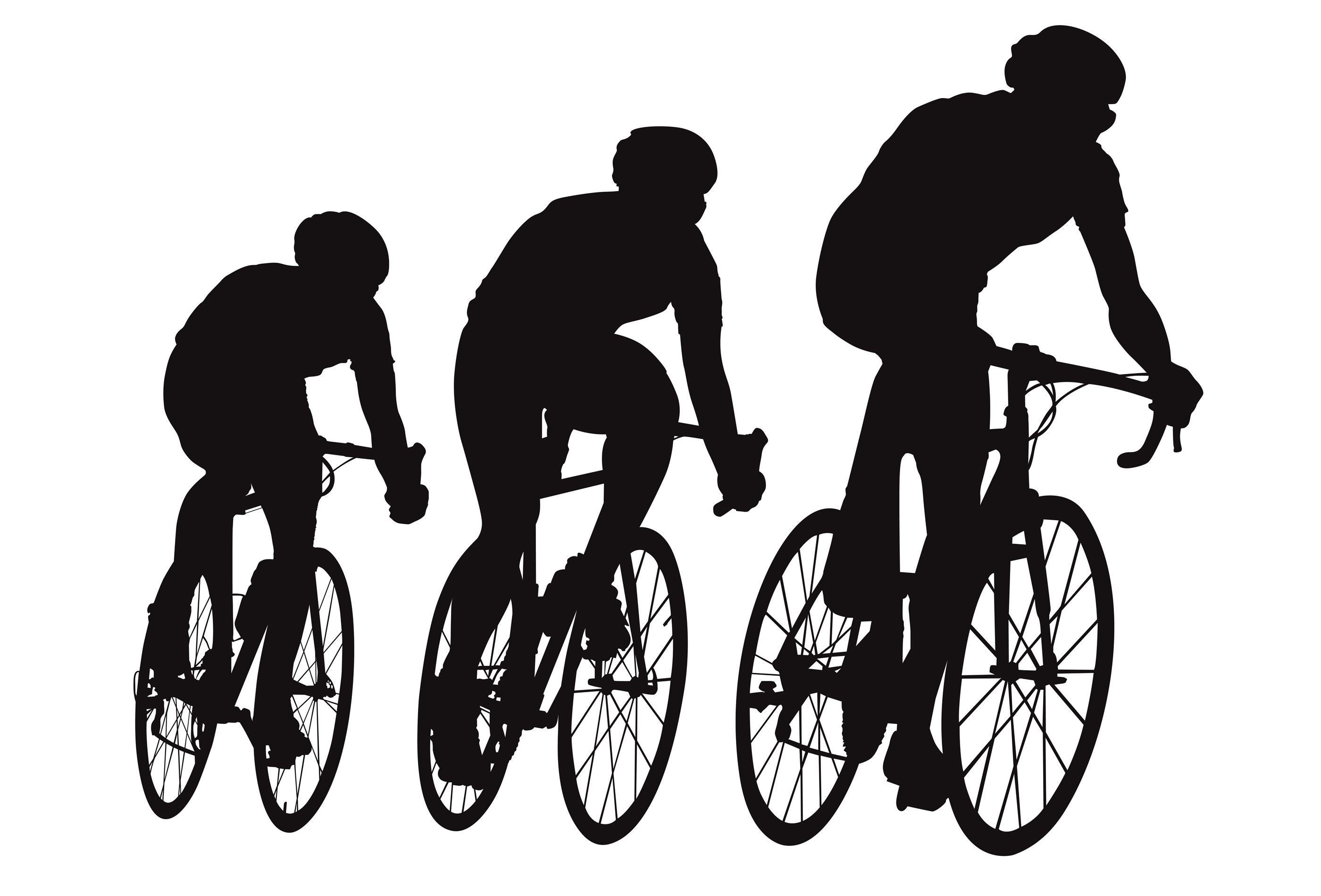 Racing Bicycle Clipart Cyclist Silhouette Hledat Googlem Plakat Kola
