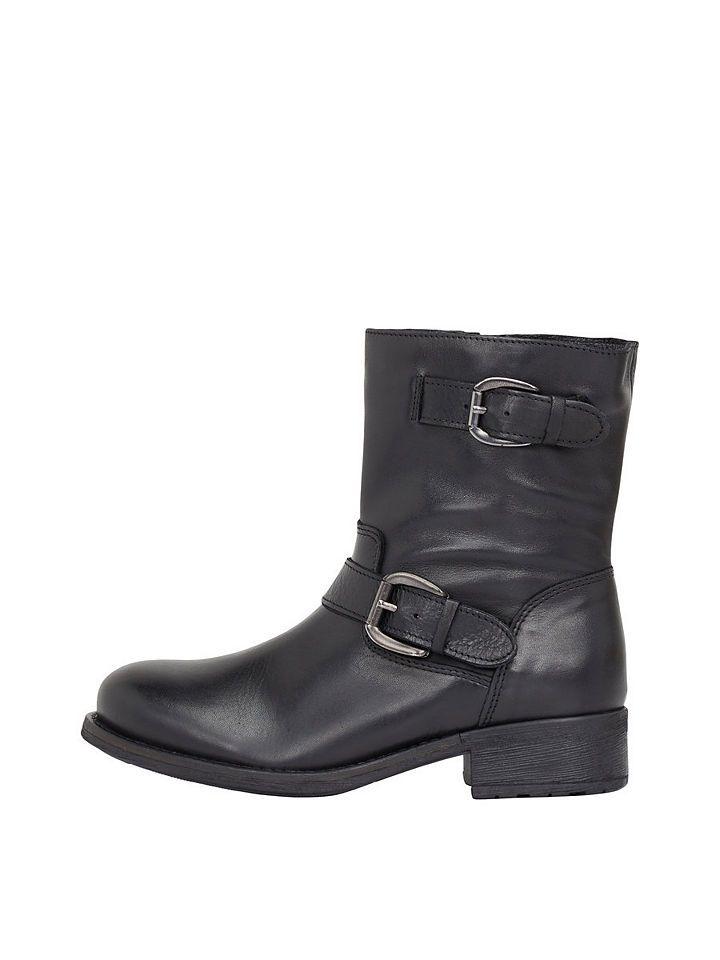 Bianco Klassische Stiefel, schwarz, Black