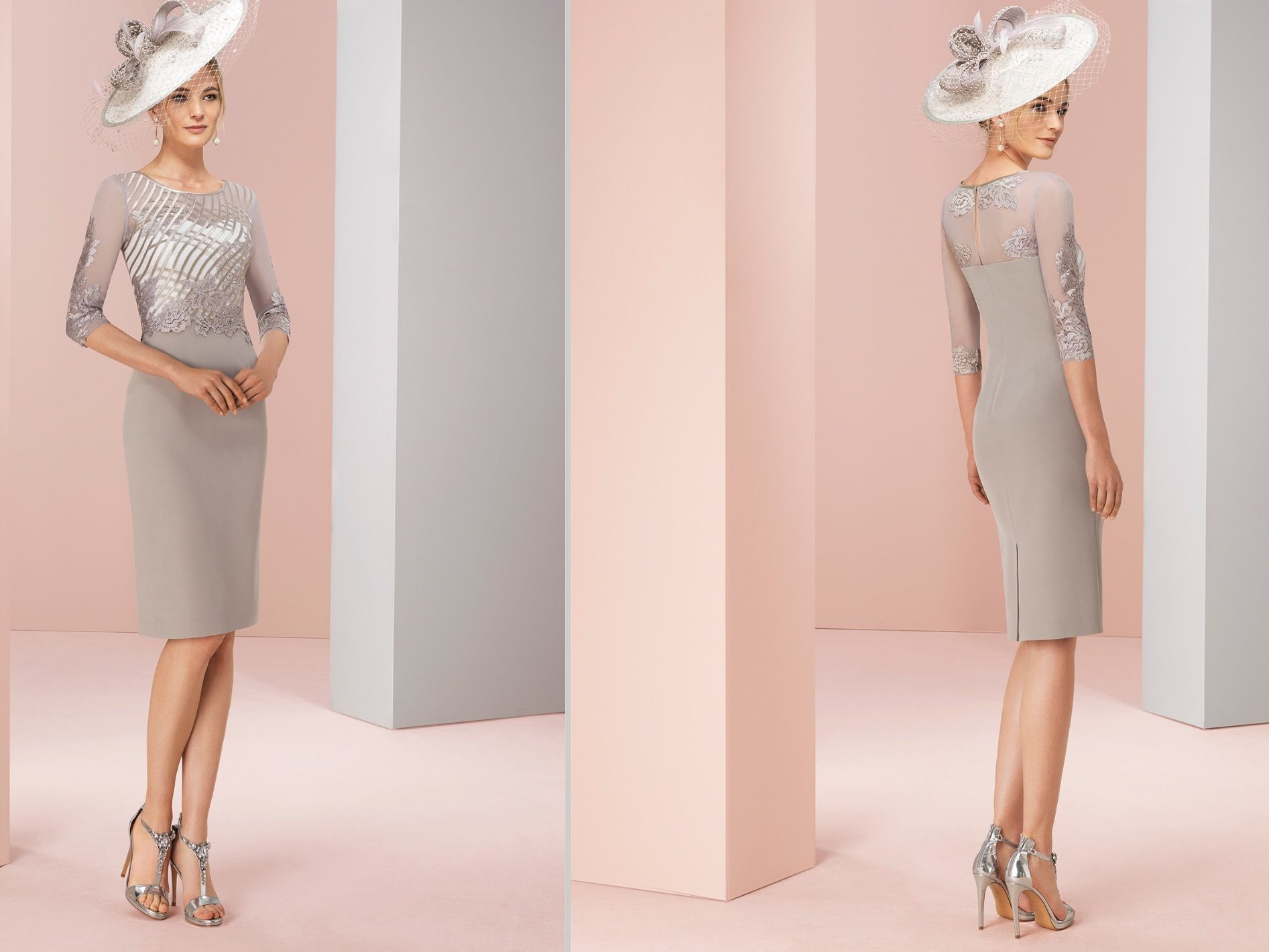 Calling all Mother of the bride ! Fabulous Marfil Barcelona Taupe ...
