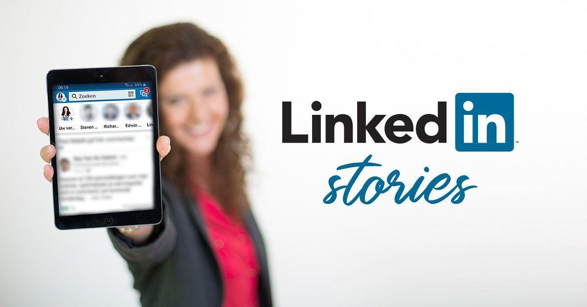 الخدمة الجديدة من لينكيدان للحالات القصصية Story Status New From Linkedin Digital Marketing Digital Marketing