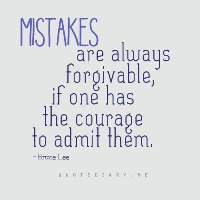 Inspiring Image Always, Bruce Lee, Courage, Mistakes, Quote   Resolution    Find The Image To Your Taste