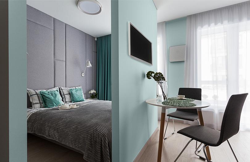 Jak Wybrac Kolor Scian W Malej Podluznej Sypialni W Bloku Portal Marki Magnat Furniture Home Home Decor