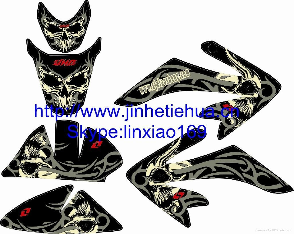 graphic design stickers for dirtbikes | Stickers Design For ... for Honda Sticker Design For Motorcycle  61obs