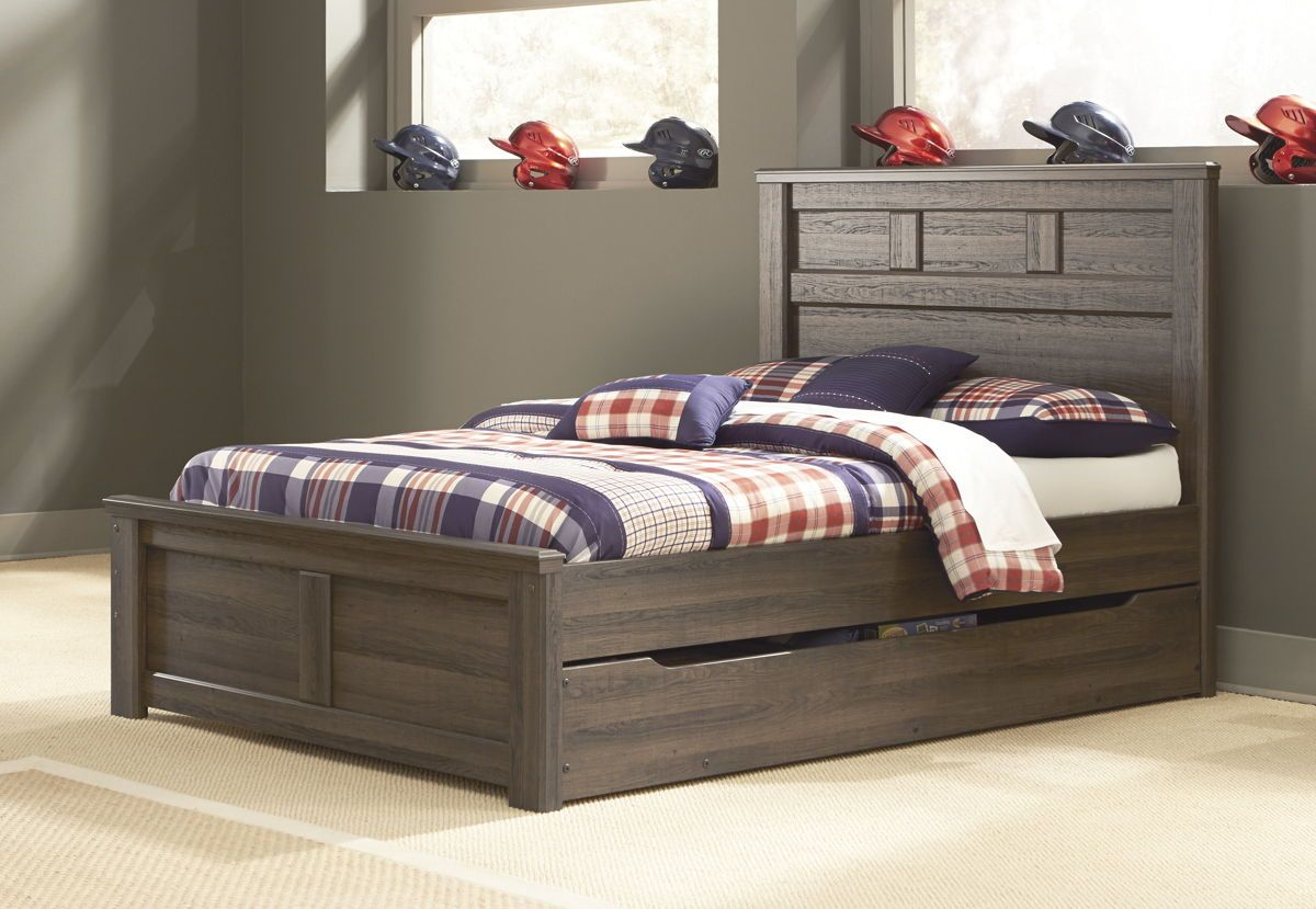 Ashley Furniture Juararo Full Panel Bed with Under Bed