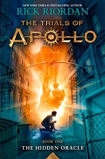 Have you missed the world of Percy Jackson? Check out Amy's review of The Hidden Oracle by Rick Riordan on the library's blog: http://carnegiestout.blogspot.com/2016/05/staff-review-hidden-oracle-trials-of.html