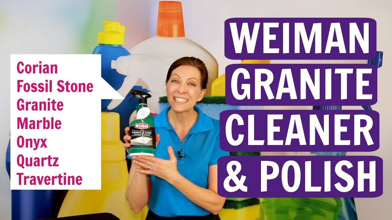 Weiman Granite And Stone Cleaner And Polish Product Review How