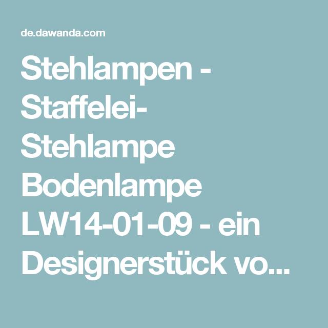 Stehlampen - Staffelei- Stehlampe Bodenlampe LW14-01-09 - ein Designerstück von LIGHTWOOD-producent-lamp-z-drewna bei DaWanda