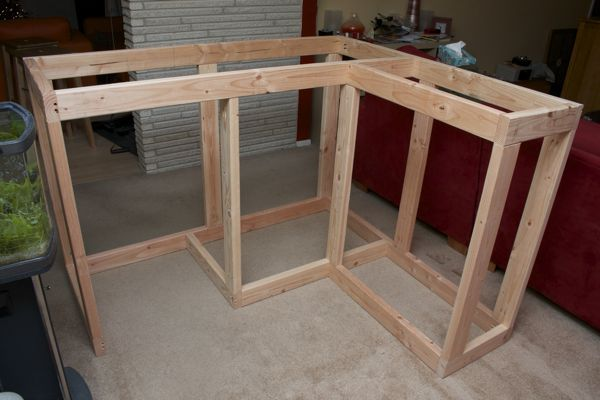 Home Bar Build - framework | Outdoor Bars and Counter tops ...