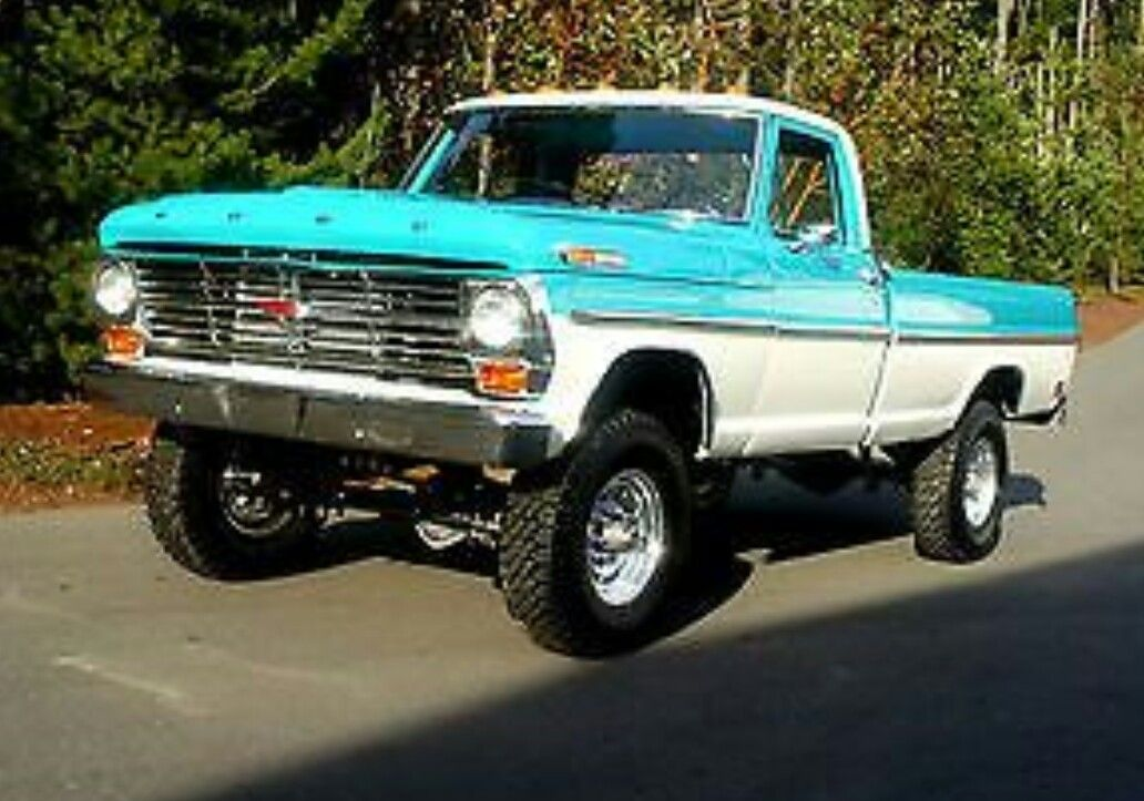 68 Highboy Trucks Ford Pickup Trucks Classic Trucks