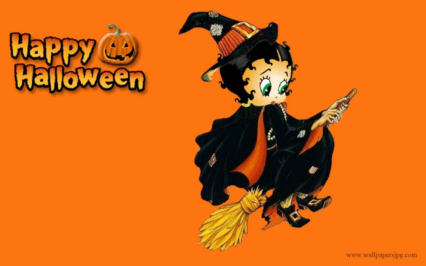 halloween images free | free happy halloween betty boop witch hd