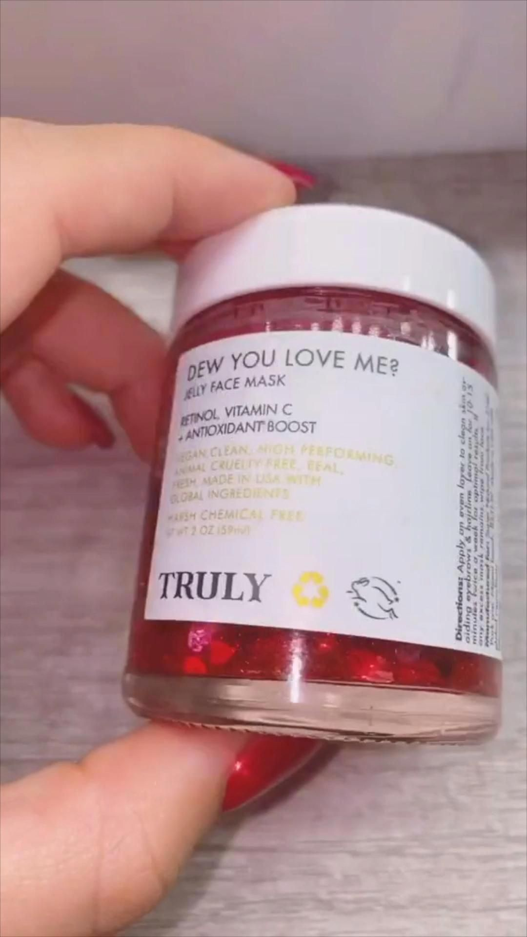 Dew You Love Me Jelly Face Mask In 2020 Oily Skin Care Skin Care Face Mask