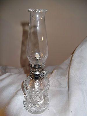 Miniature Lamps Non Electric, Lamplight Farms Oil Lamps Made In Austria