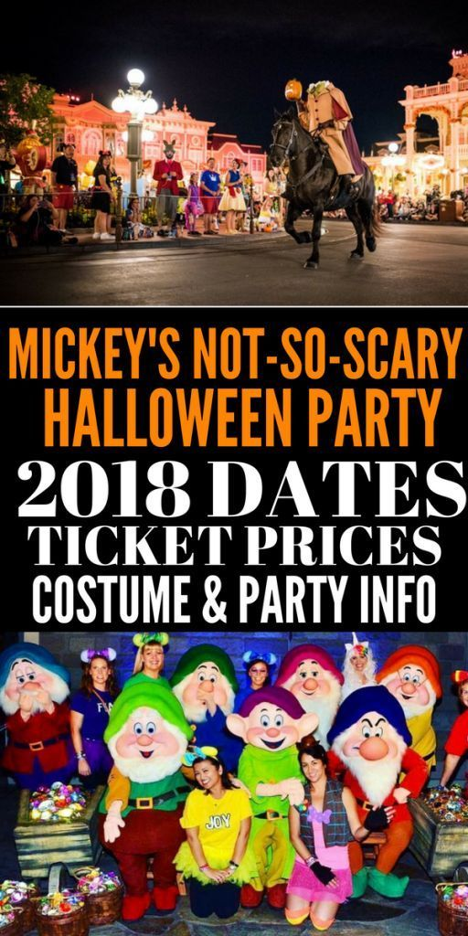 Mickey's Not So Scary Halloween Party Dates,Tickets, and Prices