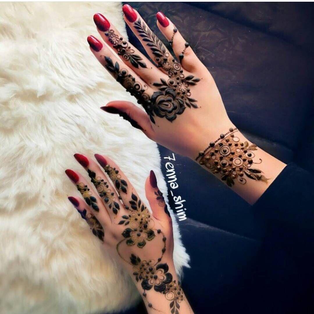 الله یسعدمن حط لایک اكتب شی تؤجر علیه شرايكم بالنقش 7enna Shim Abaya Show اول حساب Henna Designs Feet Simple Arabic Mehndi Designs Henna Designs Hand