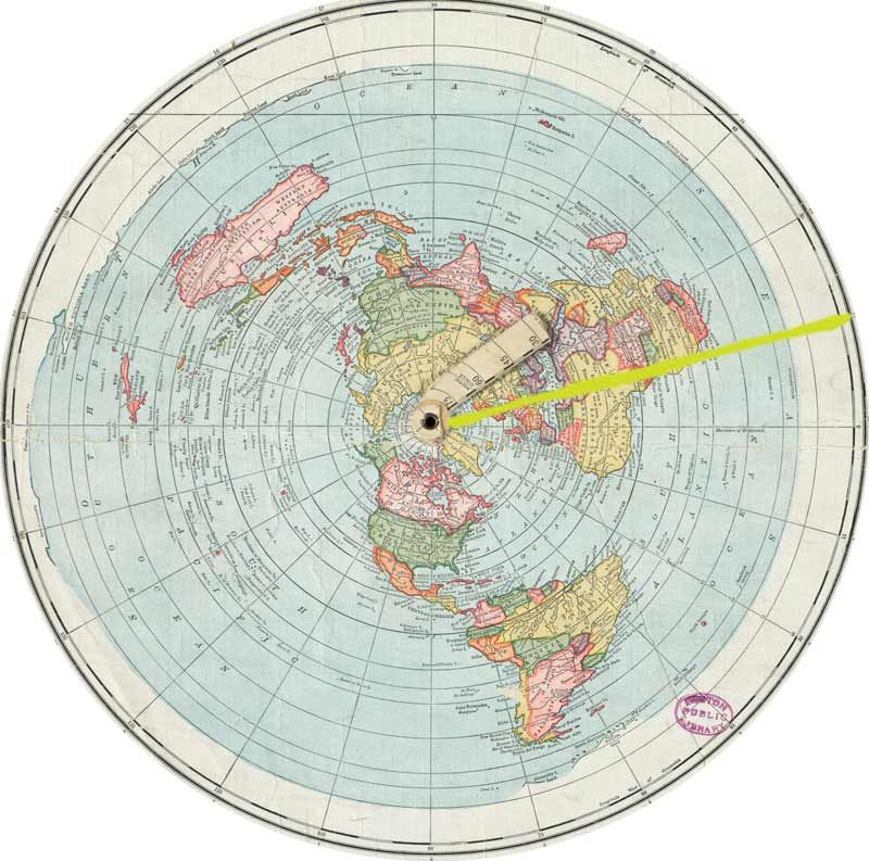How to plot and calculate distance on a Azimuthal Equidistant ...