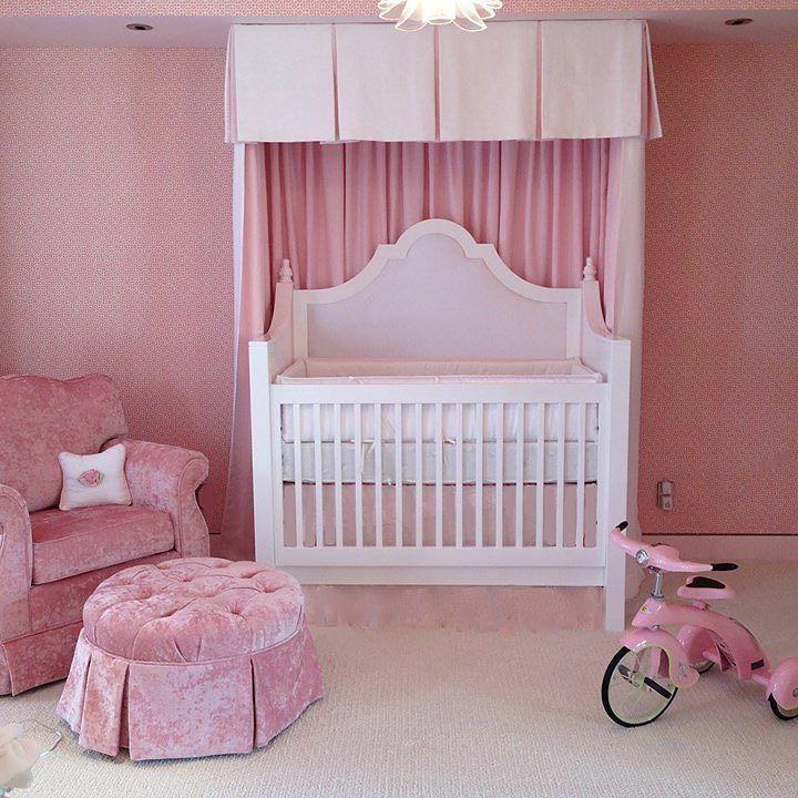 Our exclusive Regency crib is hand made in California and totally customizable. #eco #handmade #newborn #crib #onlyatpetittresor #nurserydecor